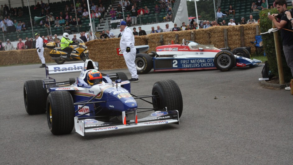 Williams FW18 (4), Goodwood Festival of Speed, 2014