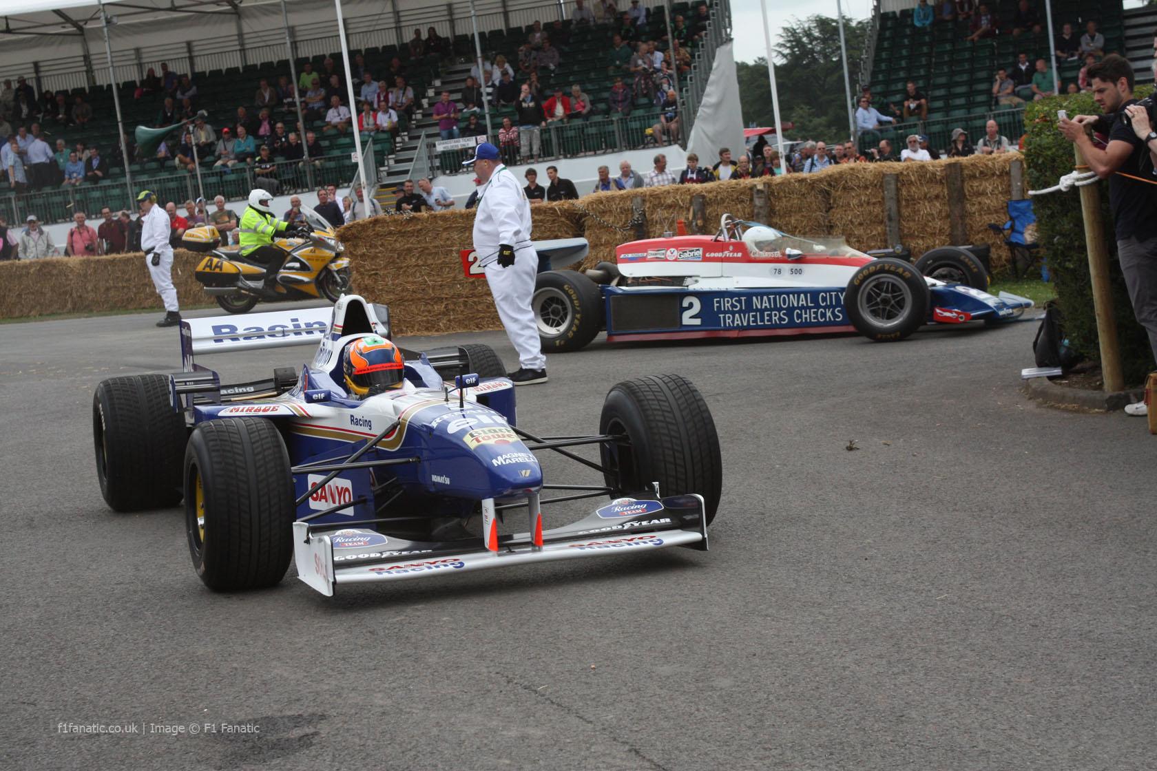 Williams FW18 (4), Goodwood Festival of Speed, 2014
