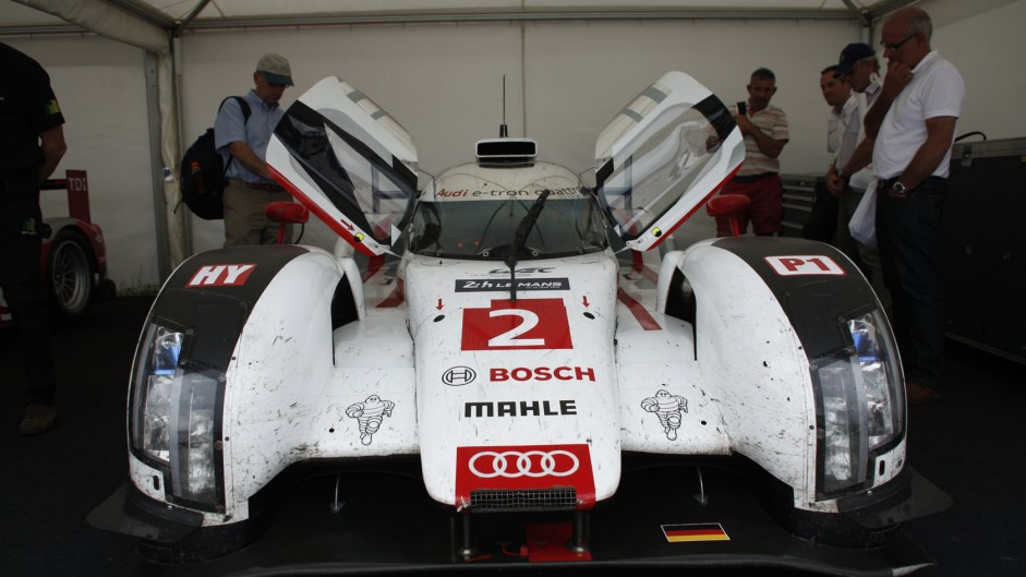 Audi R18 etron quattro, Goodwood Festival of Speed, 2014