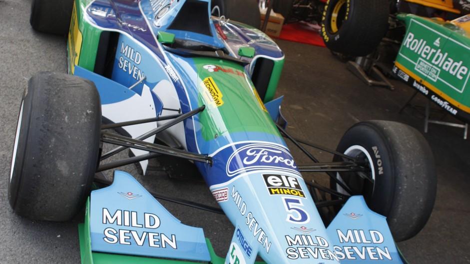 Benetton B194, Goodwood Festival of Speed, 2014