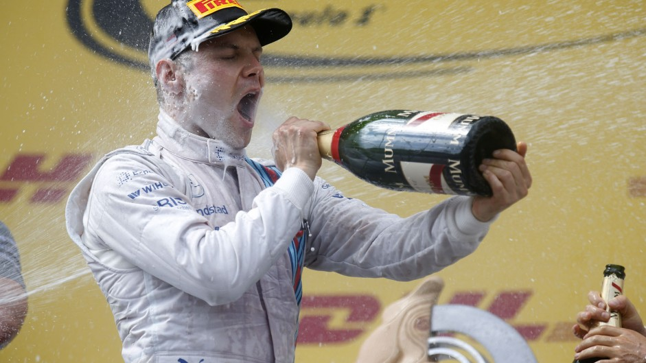 Bottas wins Driver of the Weekend after first podium