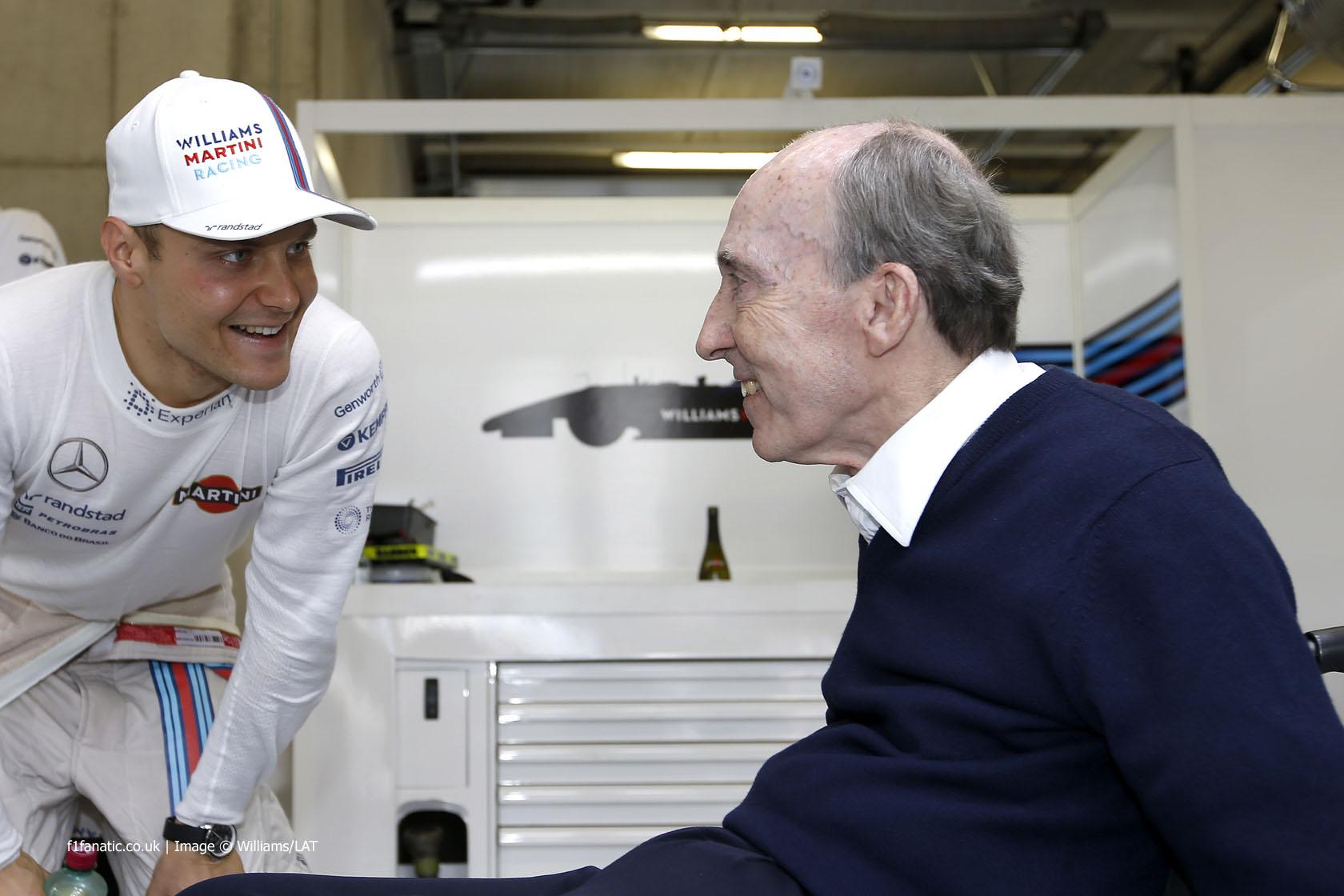 Valtteri Bottas, Frank Williams, Williams, Red Bull Ring, 2014