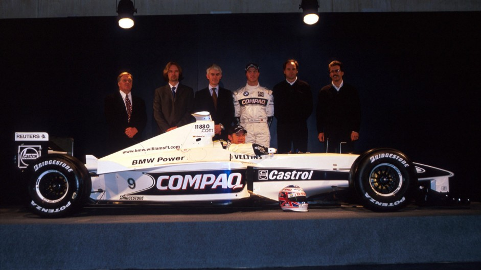 Ralf Schumacher, Jenson Button, Williams, 2000