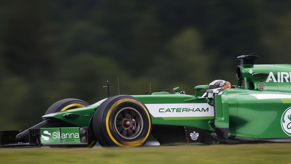 Kamui Kobayashi, Caterham, Red Bull Ring, 2014
