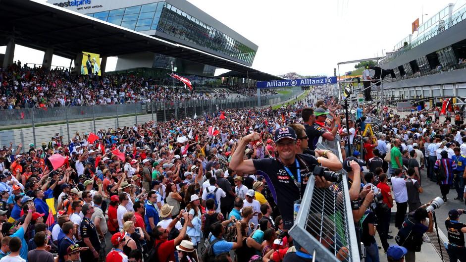 Fans, Red Bull Ring, 2014