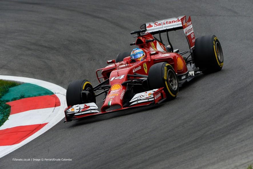 Fernando Alonso, Ferrari, Red Bull Ring, 2014