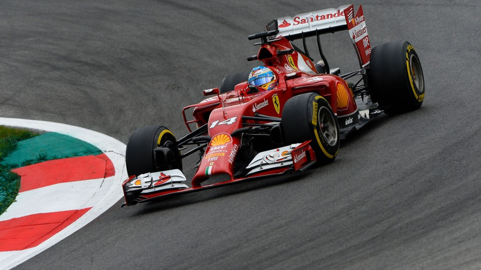 Fernando Alonso, Ferrari, Red Bull Ring, 2014