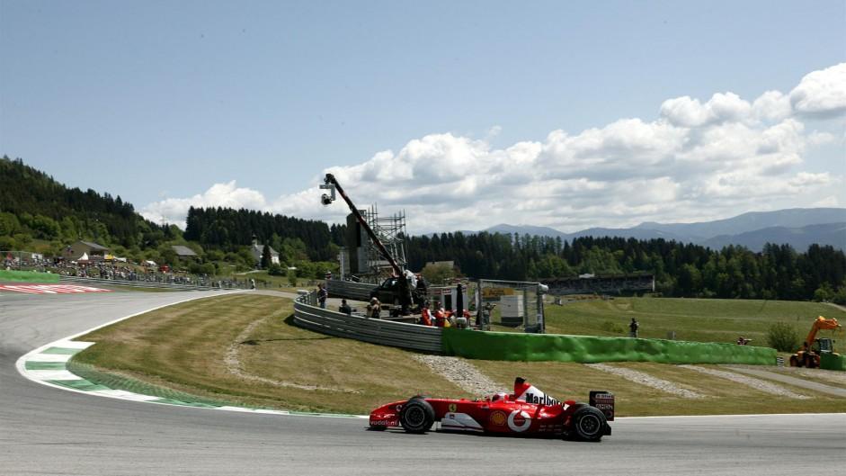 Rubens Barrichello, Ferrari, A1-Ring, 2002