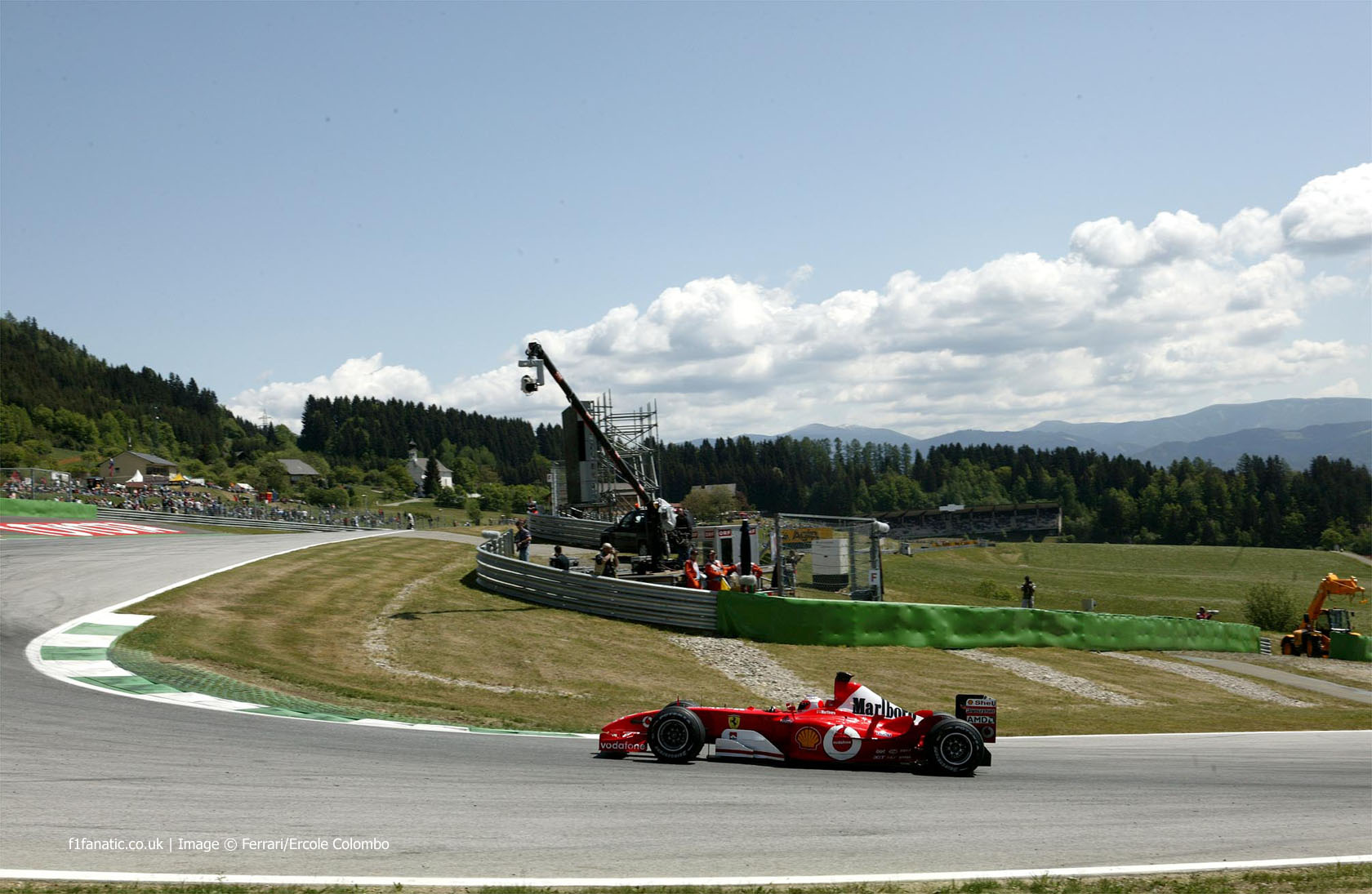 Rubens Barrichello, Ferrari, A1-Ring, 2002