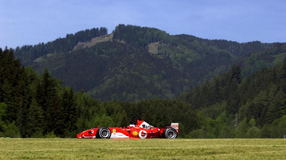 Rubens Barrichello, Ferrari, A1-Ring, 2003