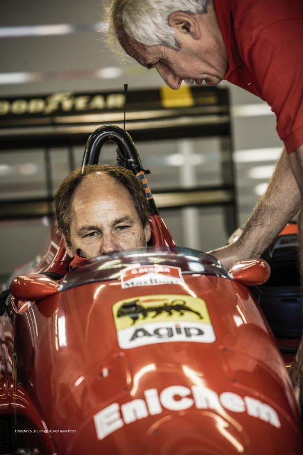 Gerhard Berger, Ferrari, Red Bull Ring, 2014