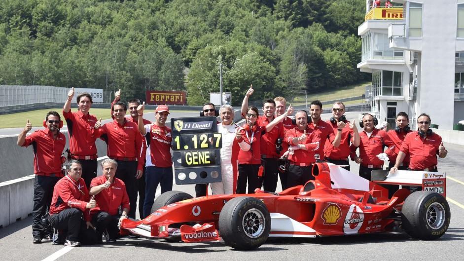 Marc Gene, Ferrari, Mont Tremblant, 2014