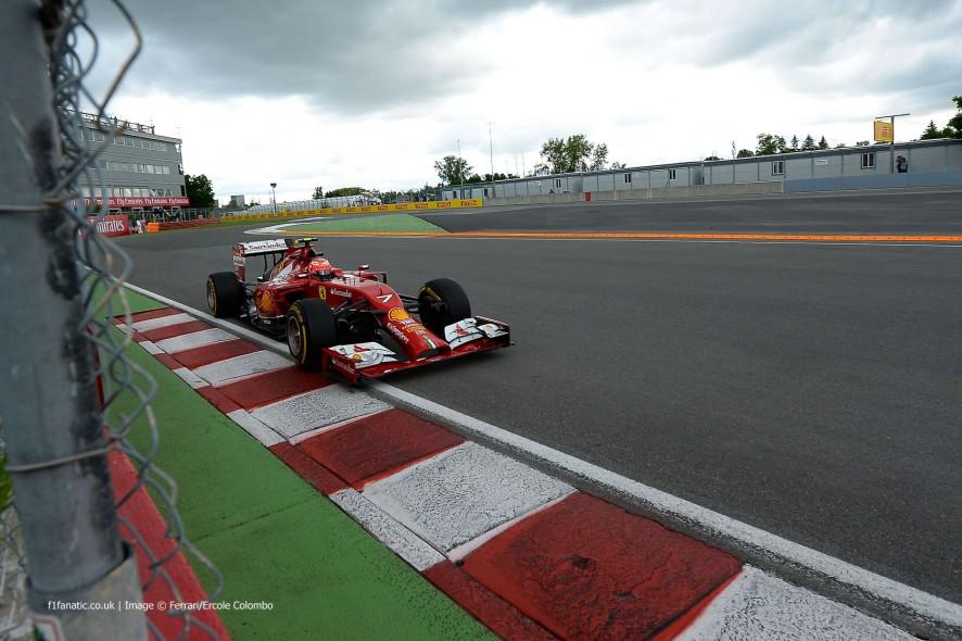 Kimi Raikkonen, Ferrari, Circuit Gilles Villeneuve, 2014