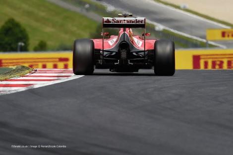 Kimi Raikkonen, Ferrari, Red Bull Ring, 2014