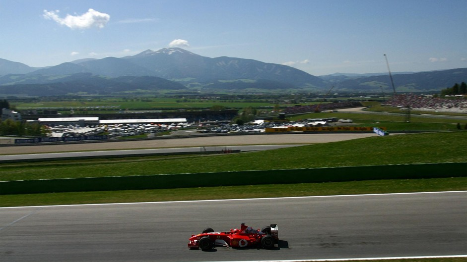Two DRS zones for F1's return to Austria
