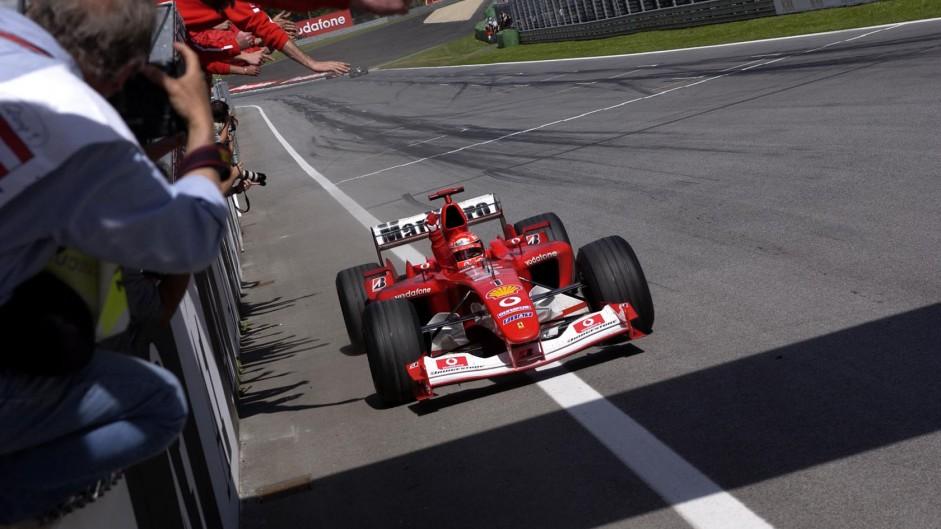 Michael Schumacher, Ferrari, A1-Ring, 2003