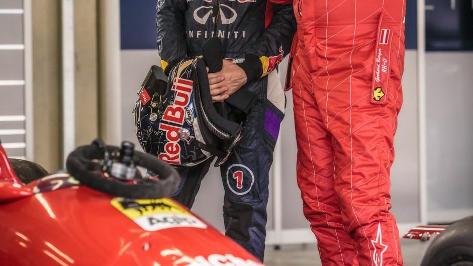 Sebastian Vettel, Gerhard Berger, Red Bull Ring, 2014