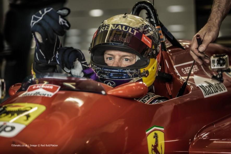 Sebastian Vettel, Ferrari, Red Bull Ring, 2014