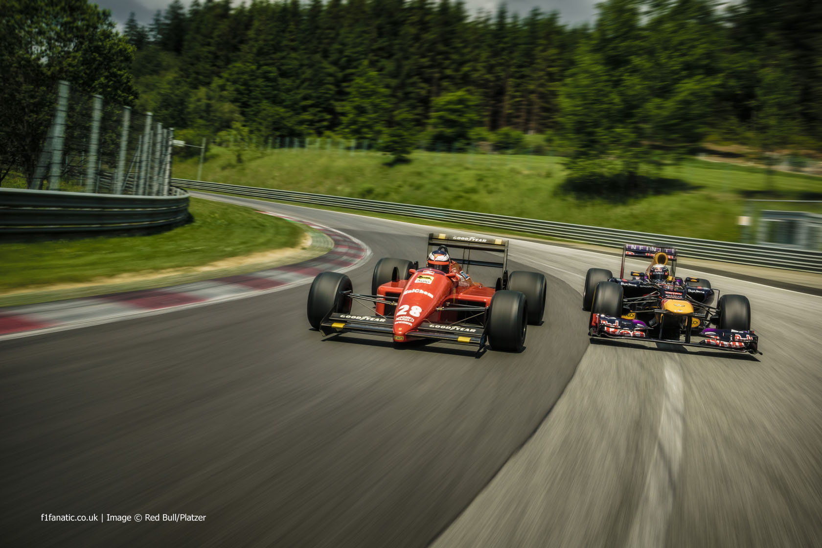 Sebastian Vettel, Gerhard Berger, Red Bull Ring, 2014