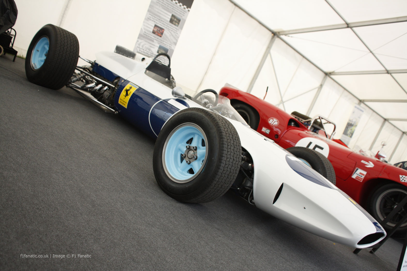 Ferrari 158, Goodwood Festival of Speed, 2014