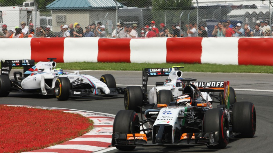 2014 Canadian Grand Prix tyre strategies and pit stops