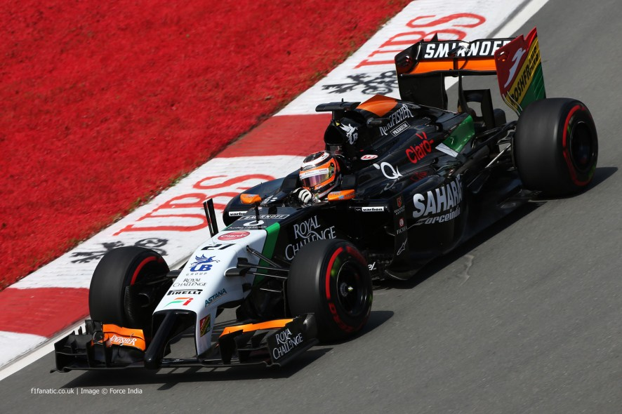 Nico Hulkenberg, Force India, Circuit Gilles Villeneuve, 2014