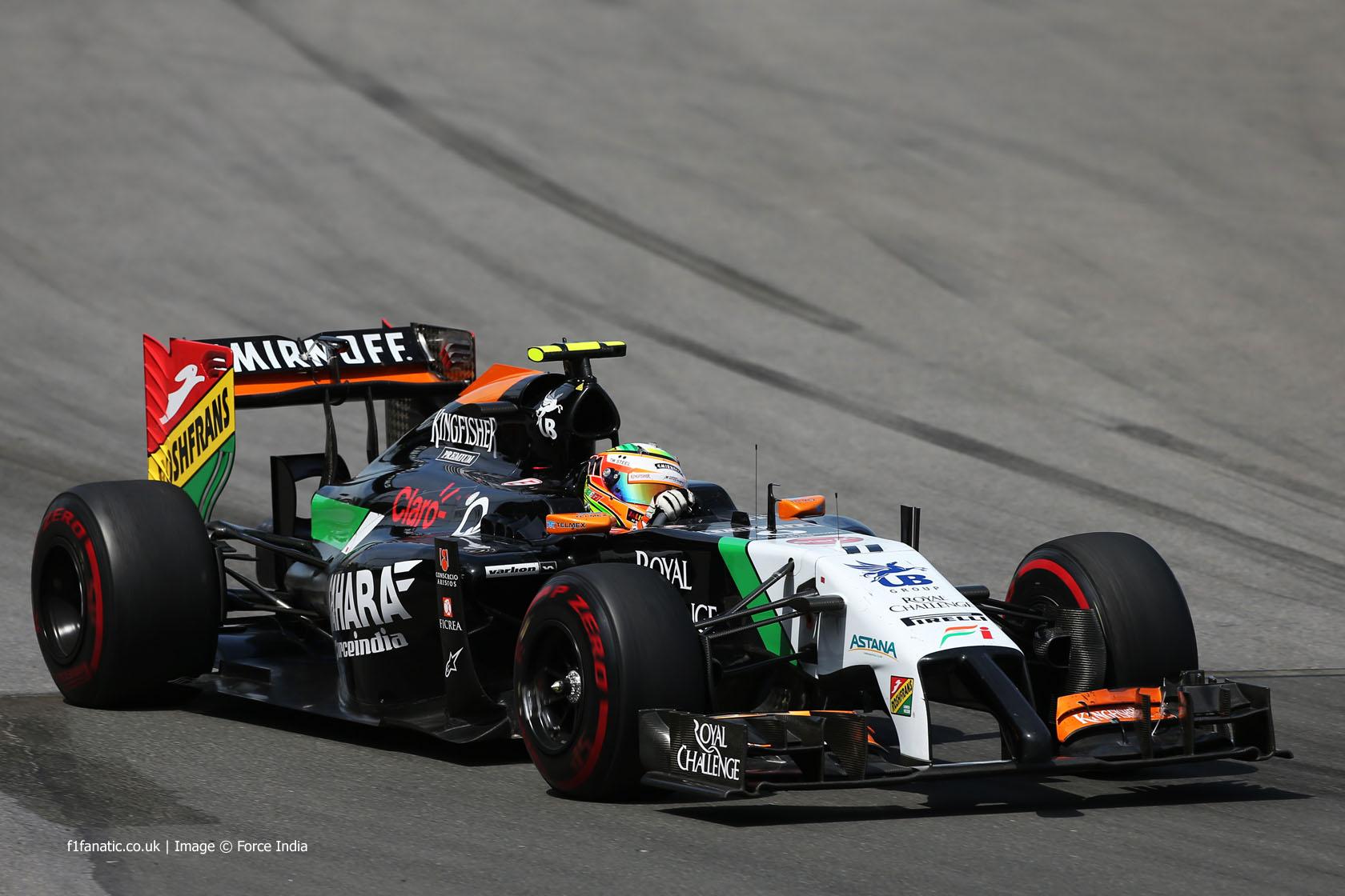 Perez penalised for last-lap crash with Massa
