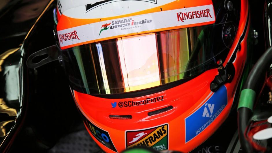 Sergio Perez, Force India, Circuit Gilles Villeneuve, 2014