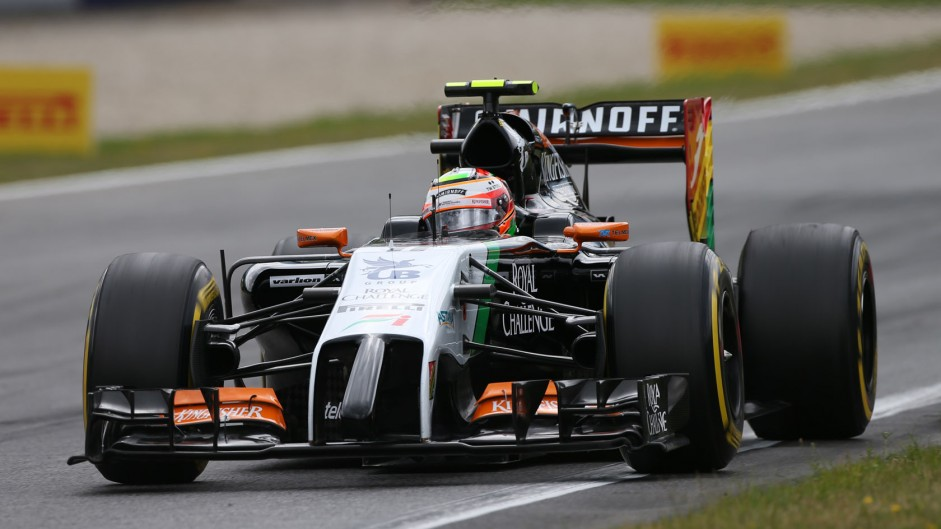 Podium possible without grid penalty – Perez