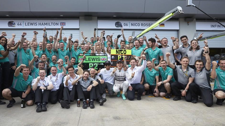 Lewis Hamilton, Nico Rosberg, , Mercedes, Red Bull Ring, 2014