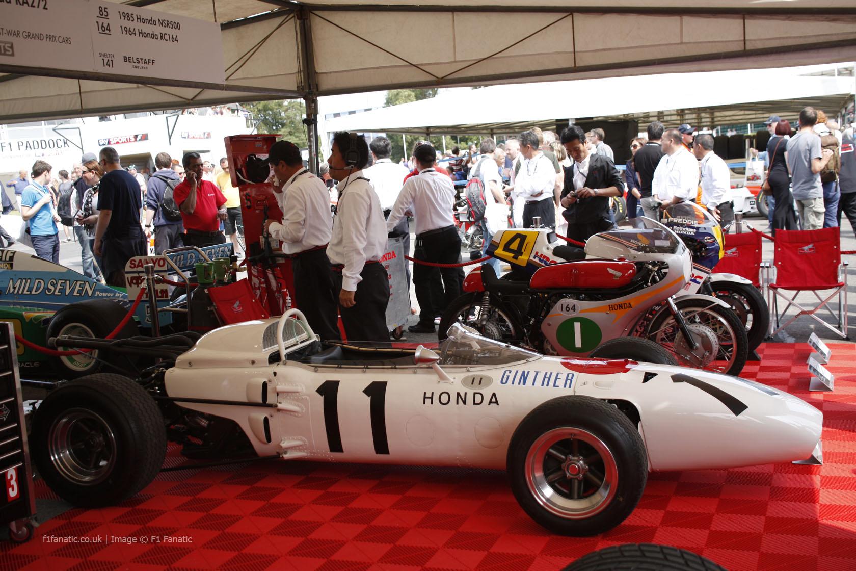 Honda RA272, Goodwood Festival of Speed, 2014