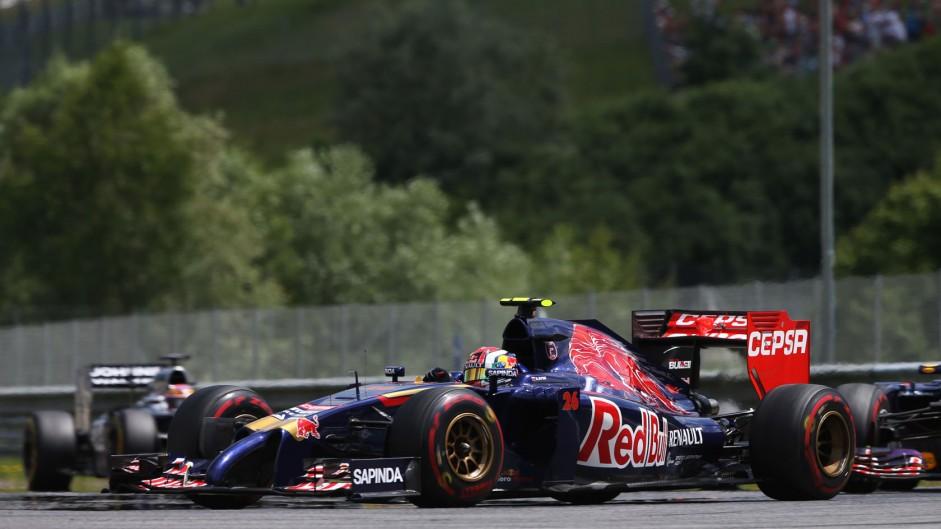 Daniil Kvyat, Toro Rosso, Red Bull Ring, 2014