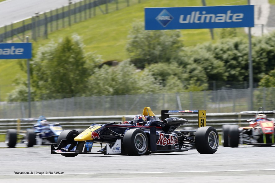 Daniil Kvyat, Formula Three Europe, Red Bull, Ring, 2013