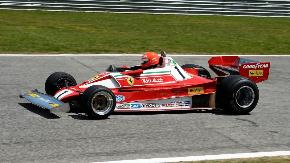 Niki Lauda, Ferrari, Red Bull Ring, 2014