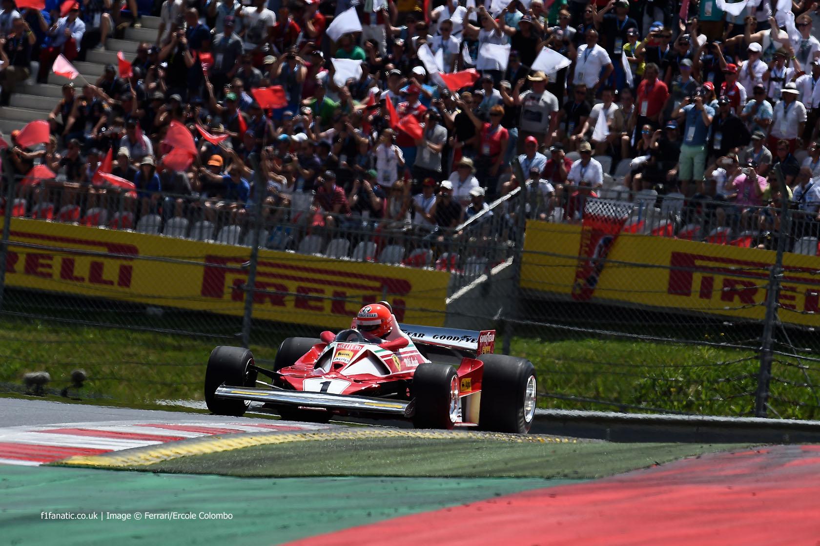 Niki Lauda, Ferrari, Red Bull Ring, 2014