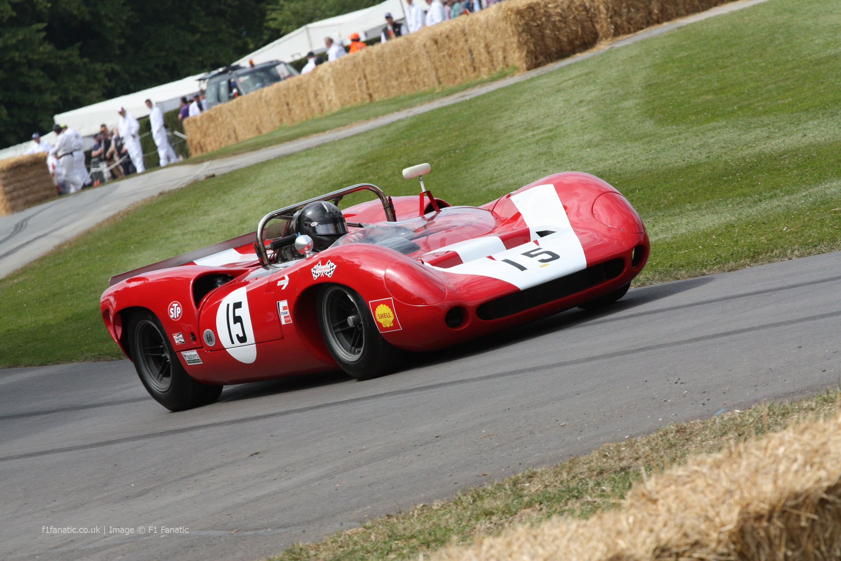 Lola-Chevrolet T70 Mk2 Spyder Can-Am, Goodwood Festival of Speed, 2014