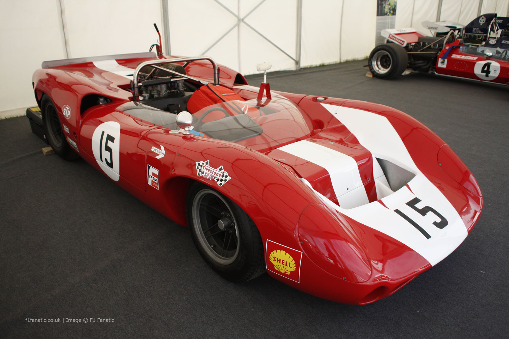 Lola-Chevrolet T80 Mk2 Spyder Can-Am, Goodwood Festival of Speed, 2014