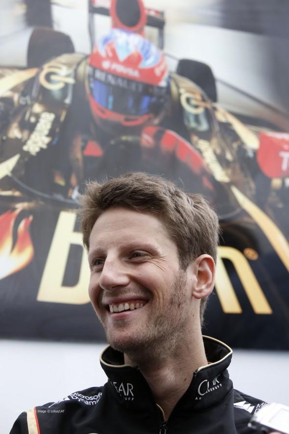 Romain Grosjean, Lotus, Circuit Gilles Villeneuve, 2014