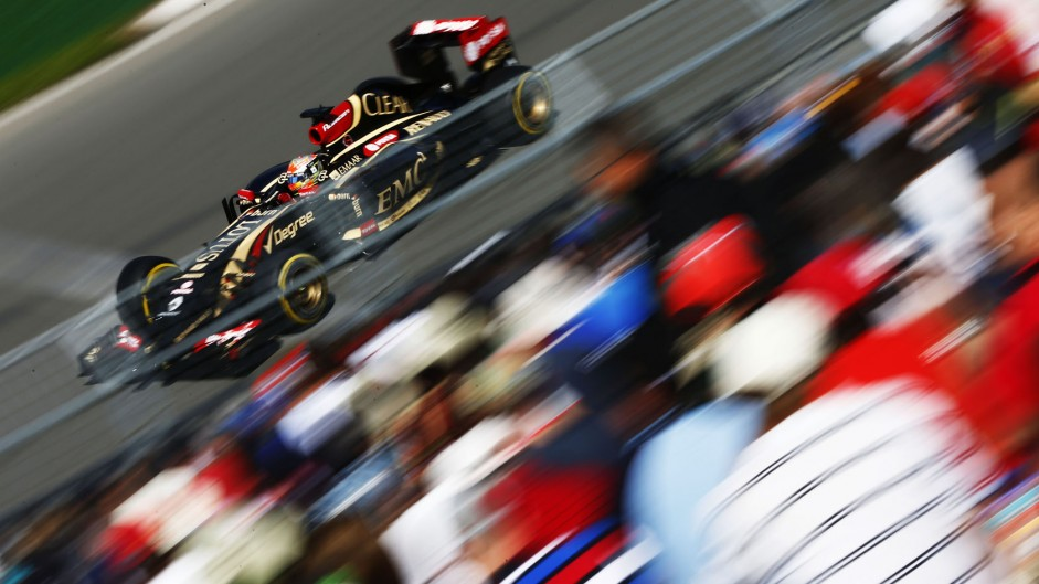 Romain Grosjean, Lotus, Circuit Gilles Villeneuve, 2014