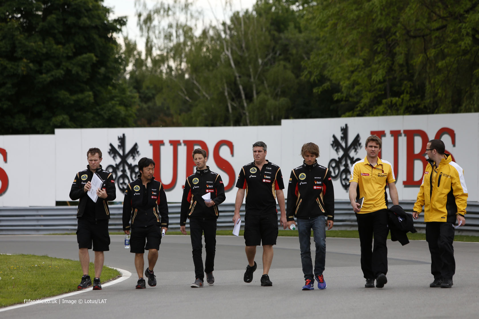 Romain Grosjean, Charles Pic, Lotus, Circuit Gilles Villeneuve, 2014
