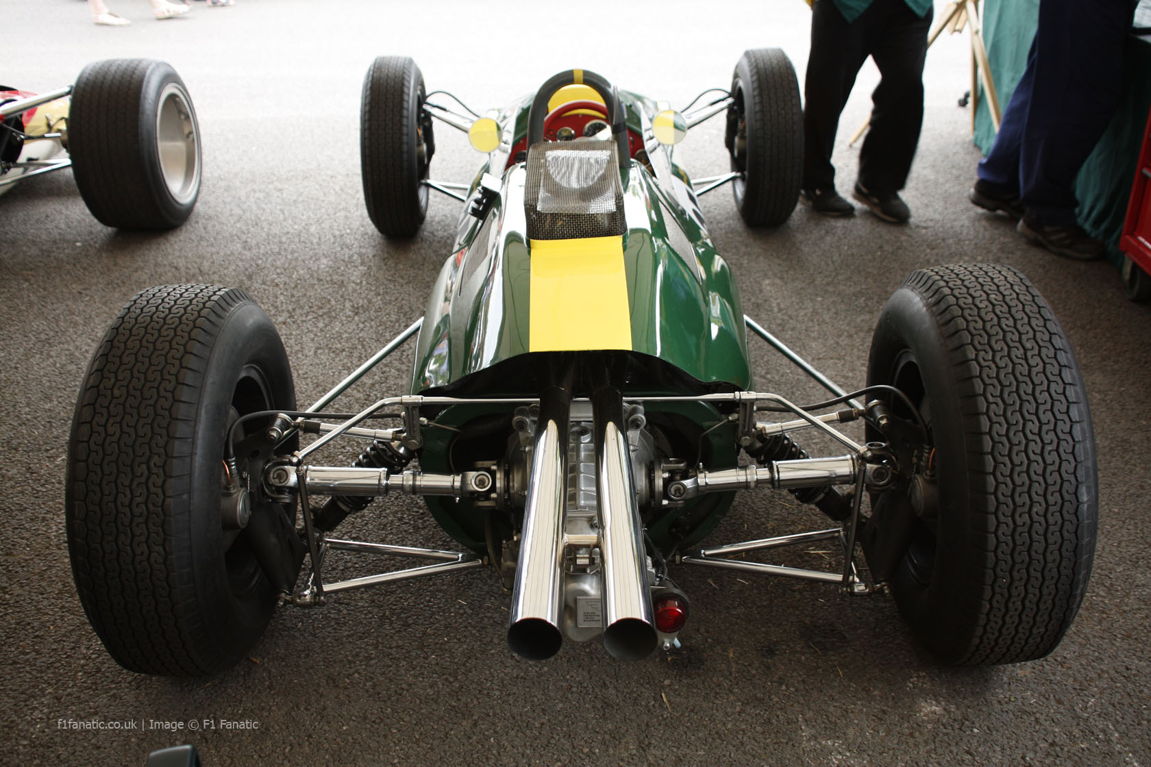 Lotus 25, Goodwood Festival of Speed, 2014