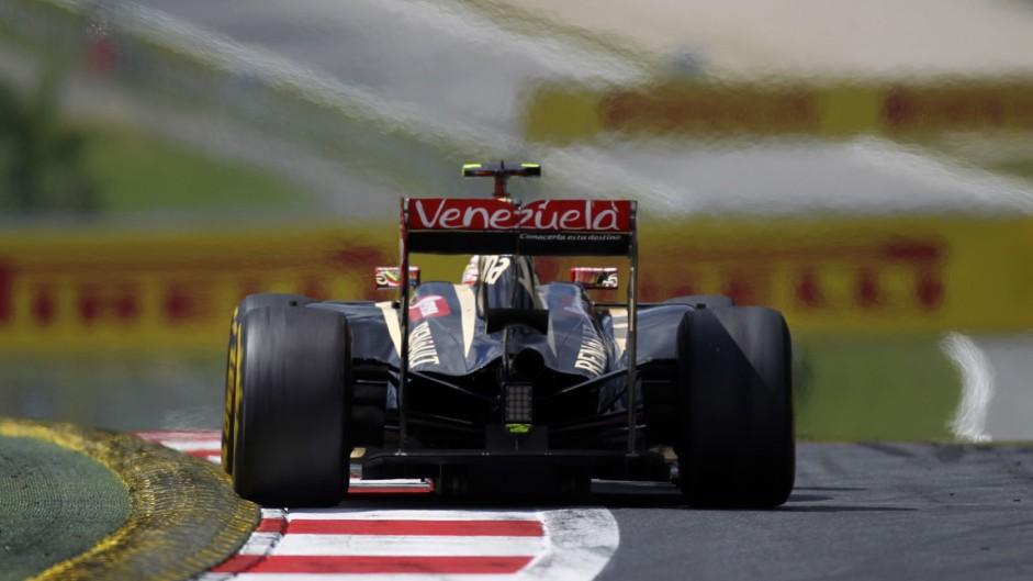 Pastor Maldonado, Lotus, Red Bull Ring, 2014