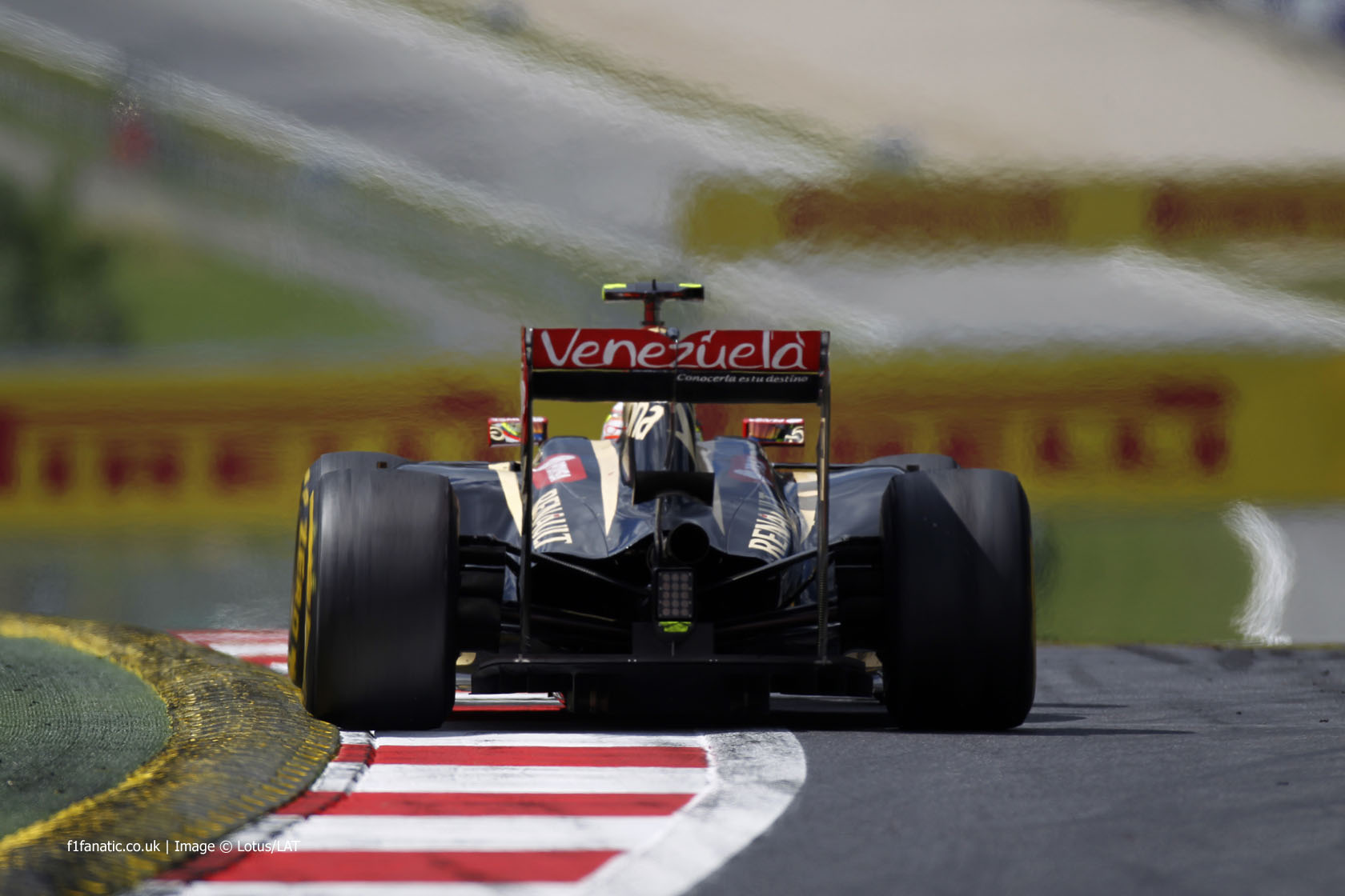 Pastor Maldonado, Lotus, Red Bull Ring, 2014
