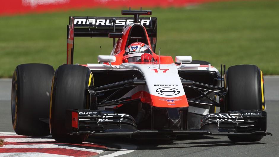 Jules Bianchi, Marussia, Circuit Gilles Villeneuve, 2014