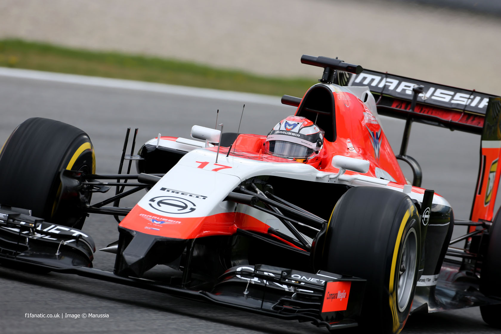 Jules Bianchi, Marussia, Red Bull Ring, 2014