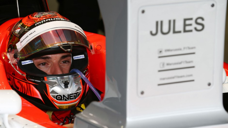Marussia ask for patience as wait continues for details of Bianchi's condition
