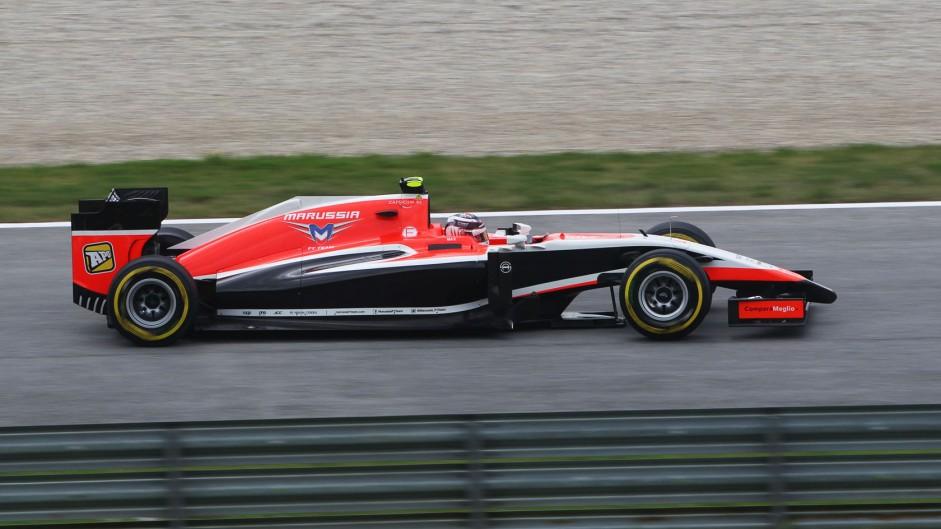 Max Chilton, Marussia, Red Bull Ring, 2014