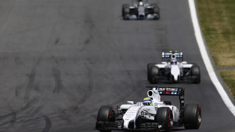 2014 Austrian Grand Prix lap charts