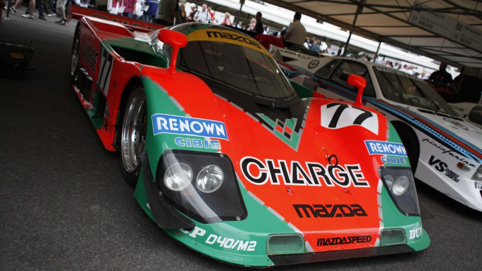Mazda 787B, Goodwood Festival of Speed, 2014