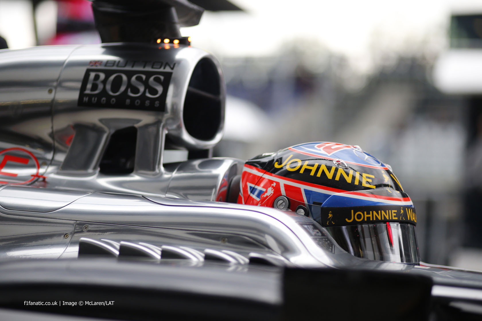 Jenson Button, McLaren, Red Bull Ring, 2014